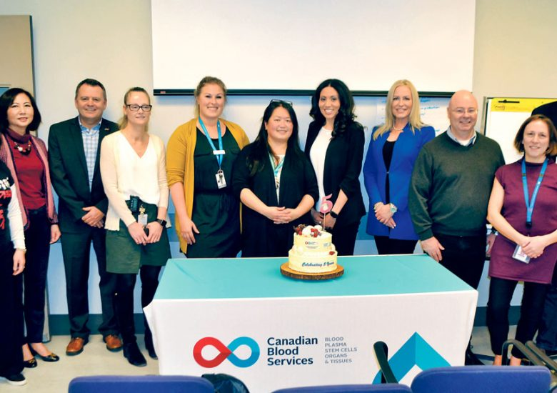 CBS Celebrates the 5th Anniversary of Its National Cord Blood Bank